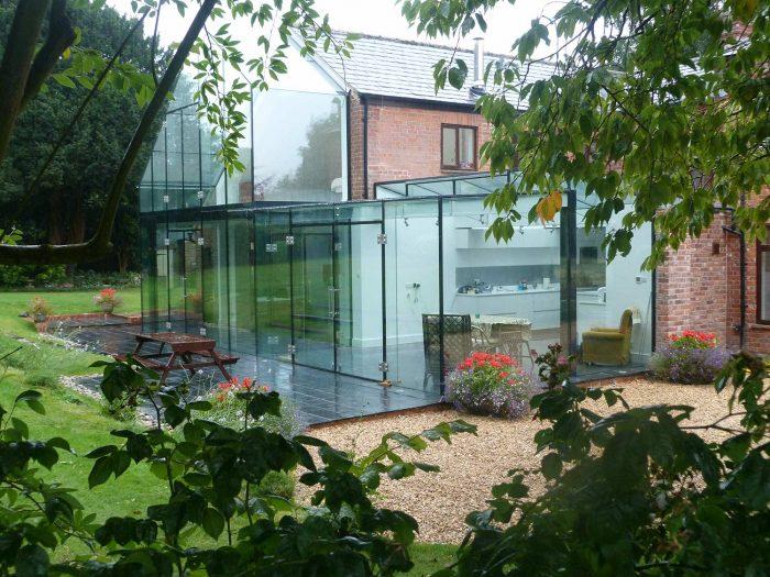 Frameless Glass Conservatories